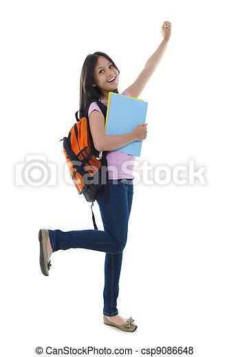 Excitement Student - csp9086648