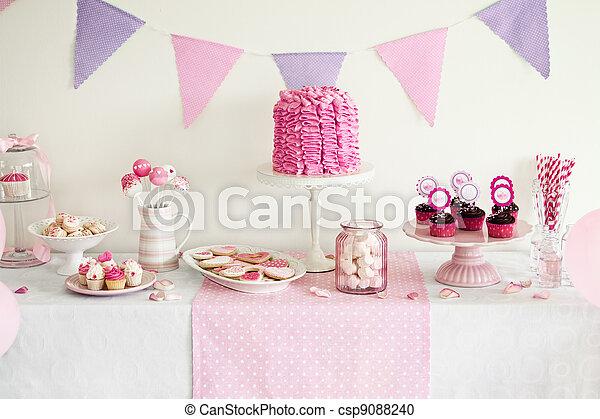 Dessert table - csp9088240