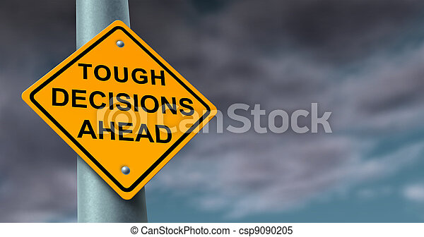 Difficult And Tough Decisions - csp9090205