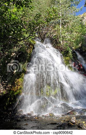 Water Falls In Carson City Nevada - csp9090642