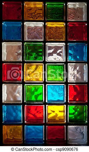 Stock de imagenes de decorativo vidrio bloques en - Bloque de vidrio precio ...