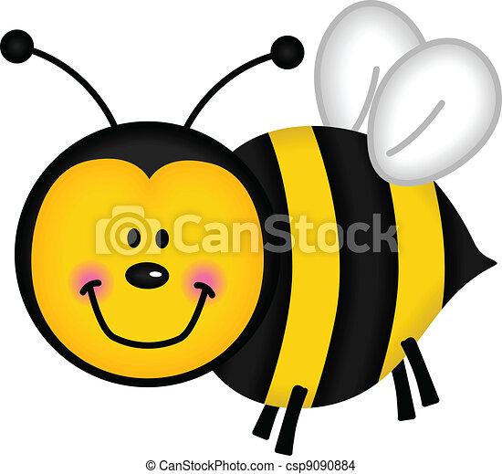 Happy Bee - csp9090884