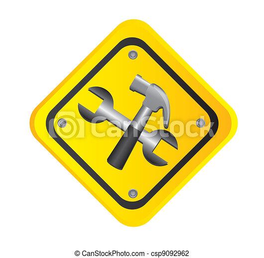 road sign - csp9092962