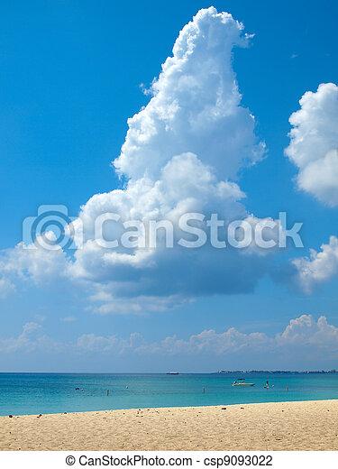 Seven Mile Beach Grand Cayman - csp9093022