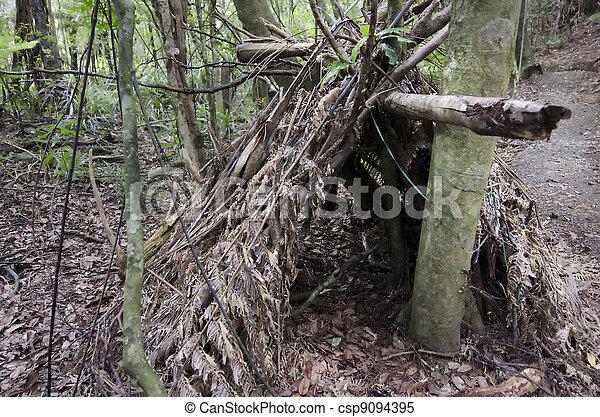 Wilderness Survival - Debris Huts - csp9094395