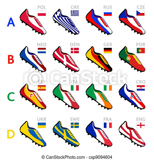 Soccer team shoes - csp9094604
