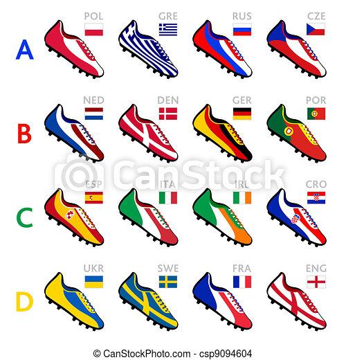 Soccer team shoes - csp9094604