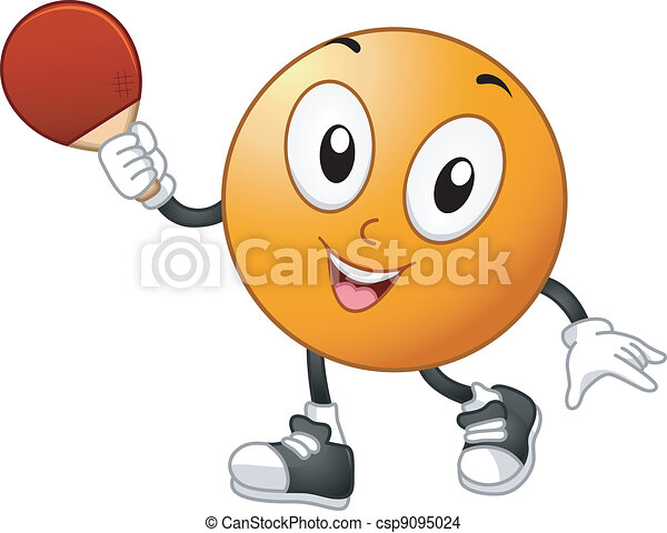 eps vector of table tennis mascot illustration of a tennis racket clip art b&w tennis racket clip art images