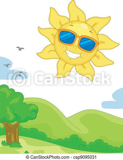 Sunny Day - csp9095031