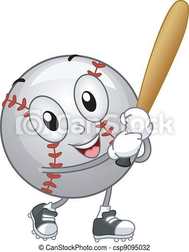 Baseball Mascot - csp9095032