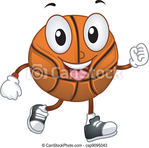 Basketball Mascot - csp9095043