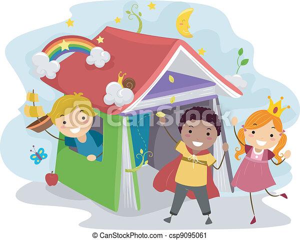 Children's Book - csp9095061
