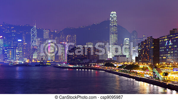 Hong Kong Skylight - csp9095987
