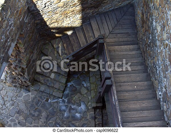 Castle Stairs - csp9096622