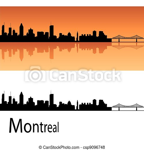 Montreal skyline - csp9096748