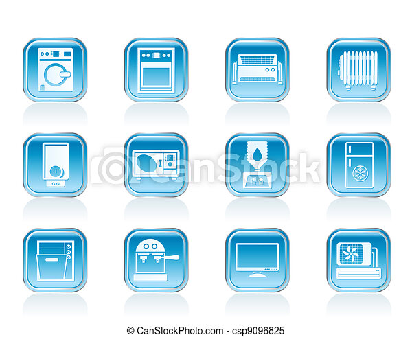 Home electronics and equipment icon - csp9096825