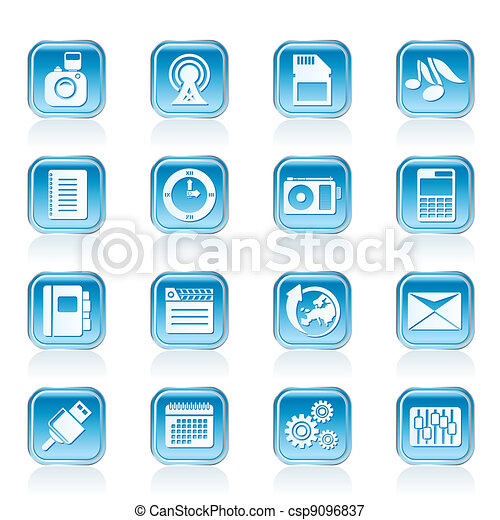 Phone Performance icons - csp9096837