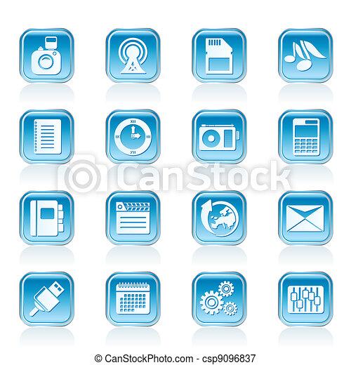 Phone Performance icons - csp9096837