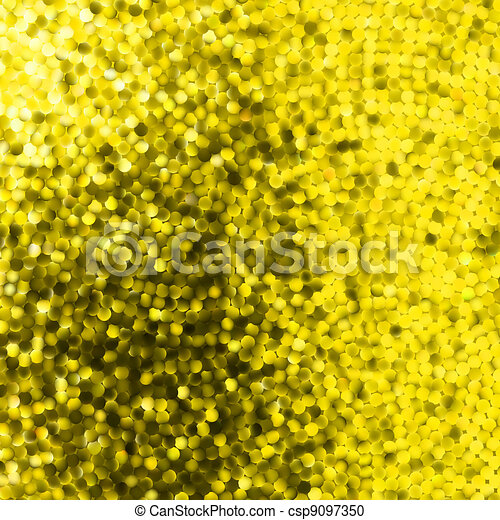 Amazing template on yellow glittering. EPS 8 - csp9097350