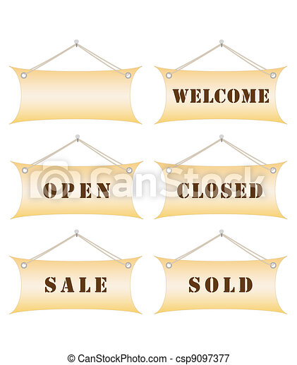 notice boards - csp9097377