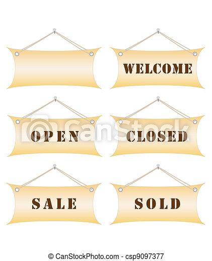 notice boards - csp9097377