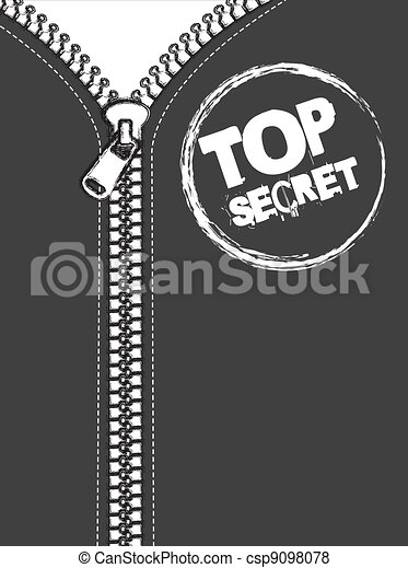 top secret - csp9098078