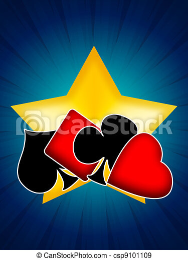 Gambling Card Games - csp9101109