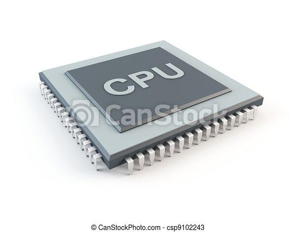 Computer CPU - csp9102243