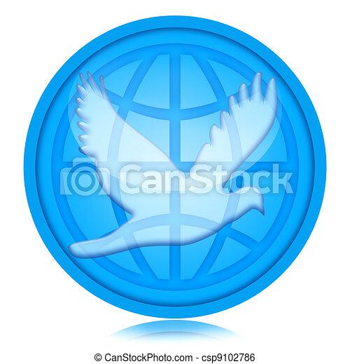 World Peace - csp9102786