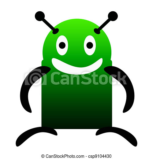 Robot Android - csp9104430