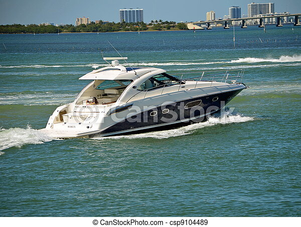 Stock Photographs Of Cabin Cruiser Luxury Cabin Cruiser
