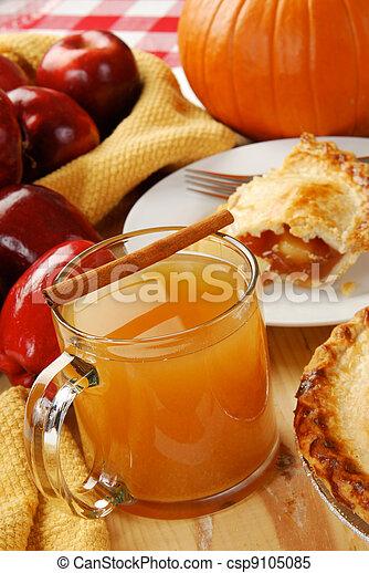 Holiday foods - csp9105085