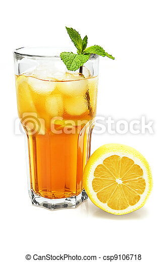 Ice lemon tea - csp9106718