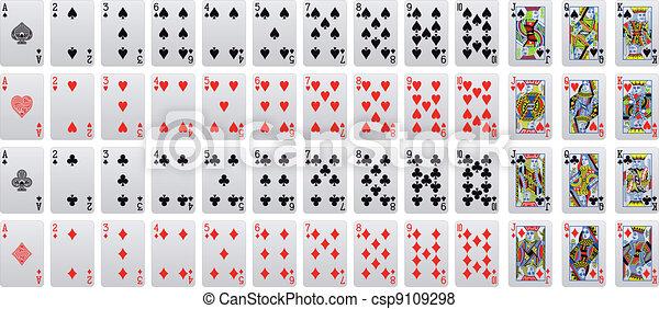 playing card - csp9109298