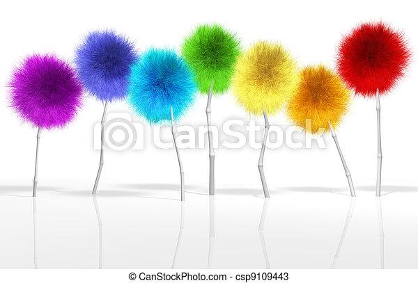 Fantasy Dandelion Trees Spectrum - csp9109443