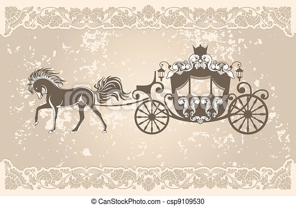 Royal carriage - csp9109530
