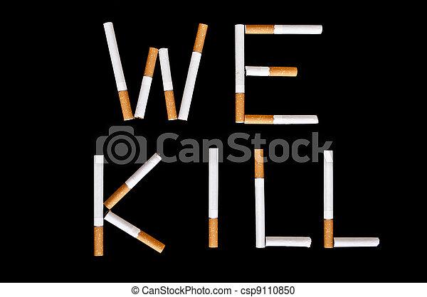 Stop smoking - csp9110850