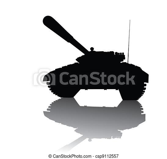 Soviet tank - csp9112557