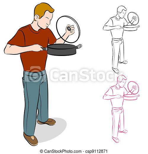 Lifting Cooking Pan Lid - csp9112871