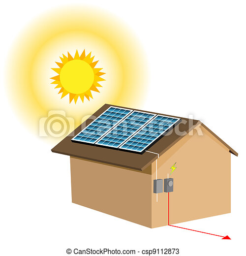 Residential Solar Panel System - csp9112873