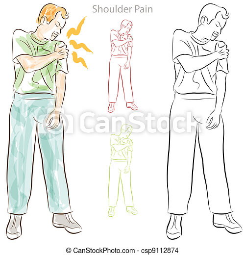 Shoulder Pain - csp9112874