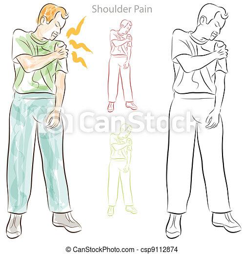 Shoulder Pain - csp9112874