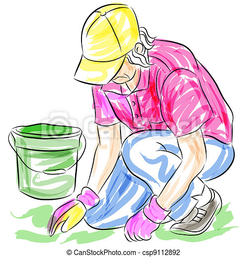 Planting Illustrations and Clip Art. 554,613 Planting royalty free ...