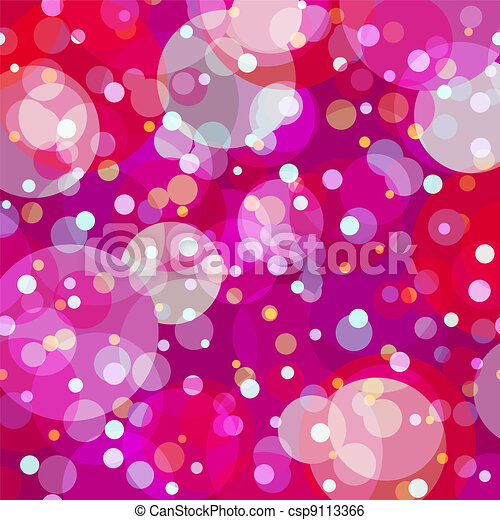 Bubbly fun background - csp9113366