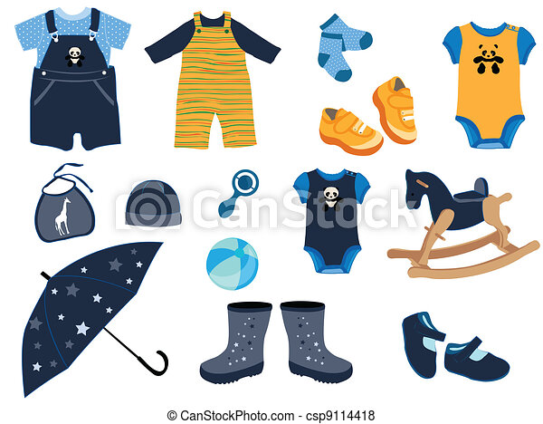 Baby fashion - csp9114418