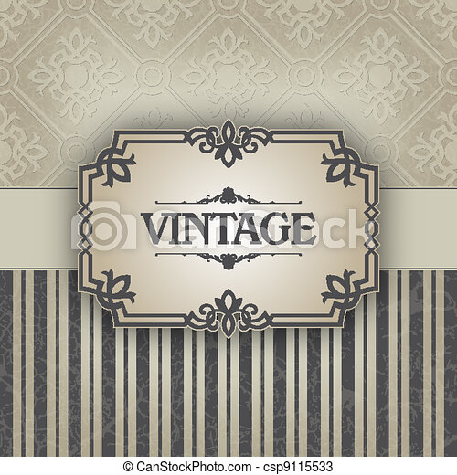 Vintage frame - csp9115533