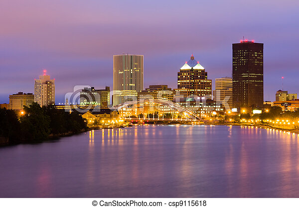 Rochester, New York State - csp9115618