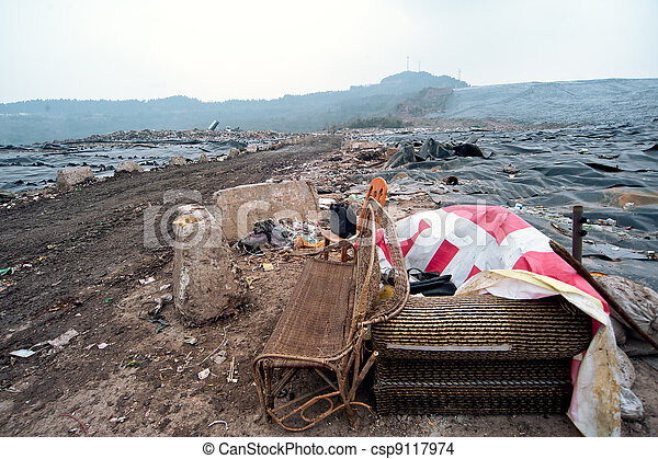 Waste disposal sites, China - csp9117974