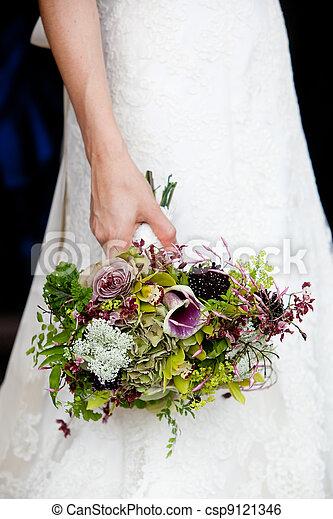 Bridal bouquet - csp9121346