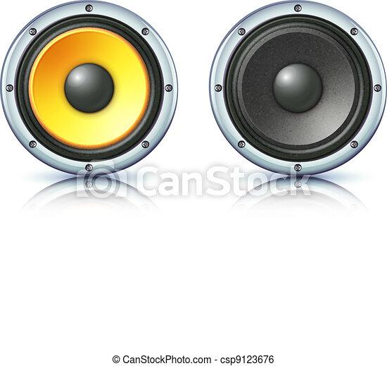sound loud speakers - csp9123676